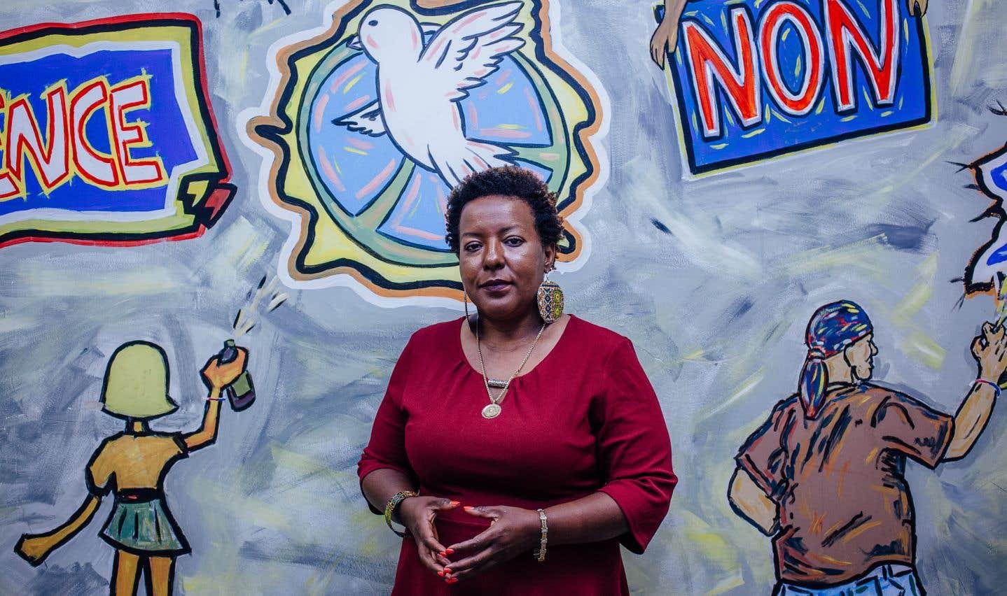 La conseillère en développement communautaire au poste de quartier 39, Rose-Andrée Hubbard