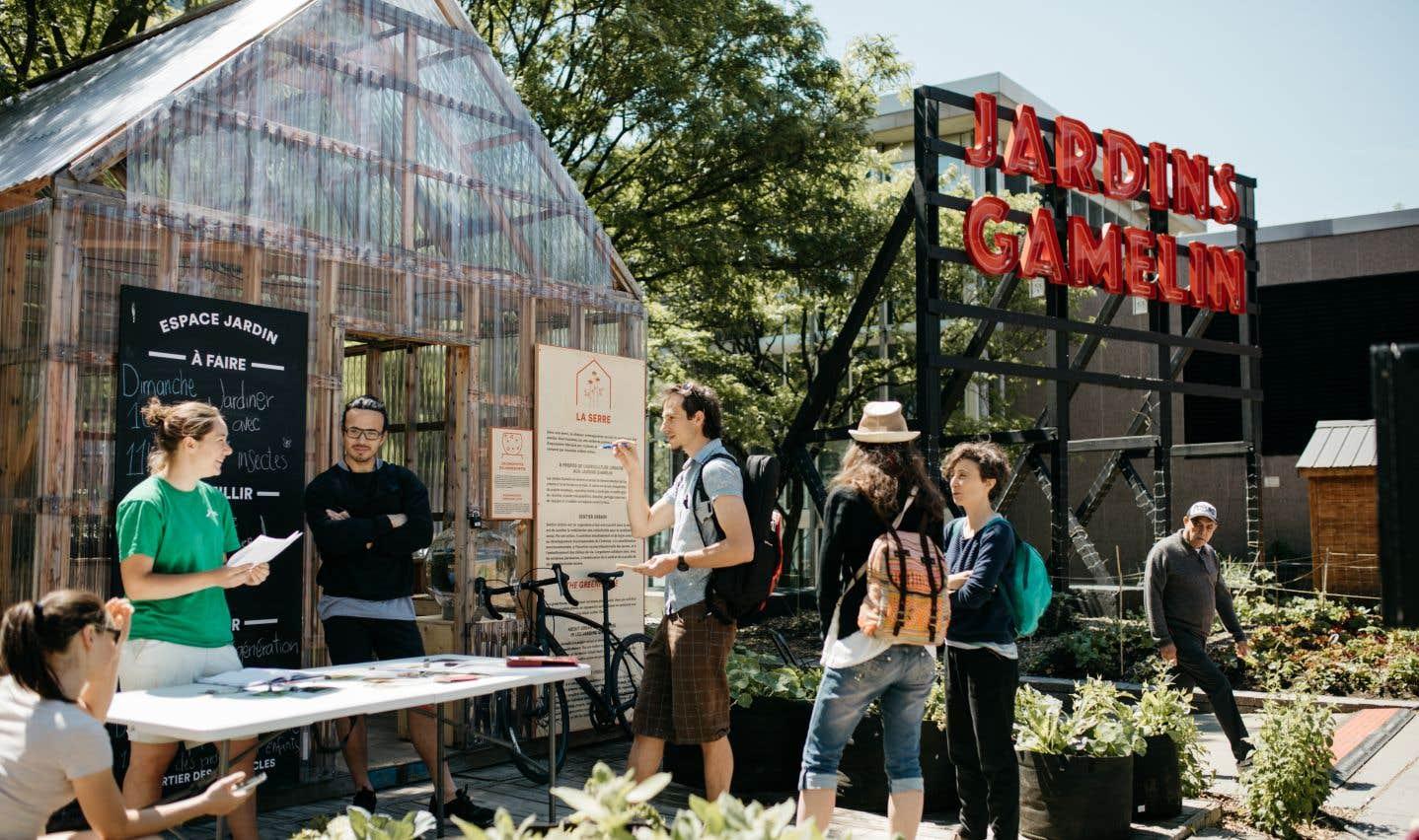 L'organisme Sentier urbain offre des conférences et des ateliers sur l'agriculture urbaine.