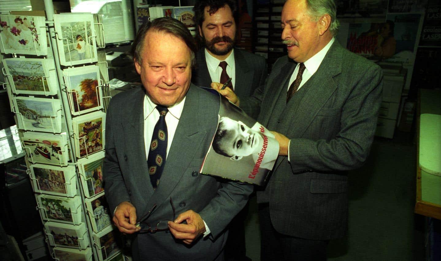 Bernard Landry est devenu vice-premier ministre du Québec sous la gouverne de Jacques Parizeau, en 1994.