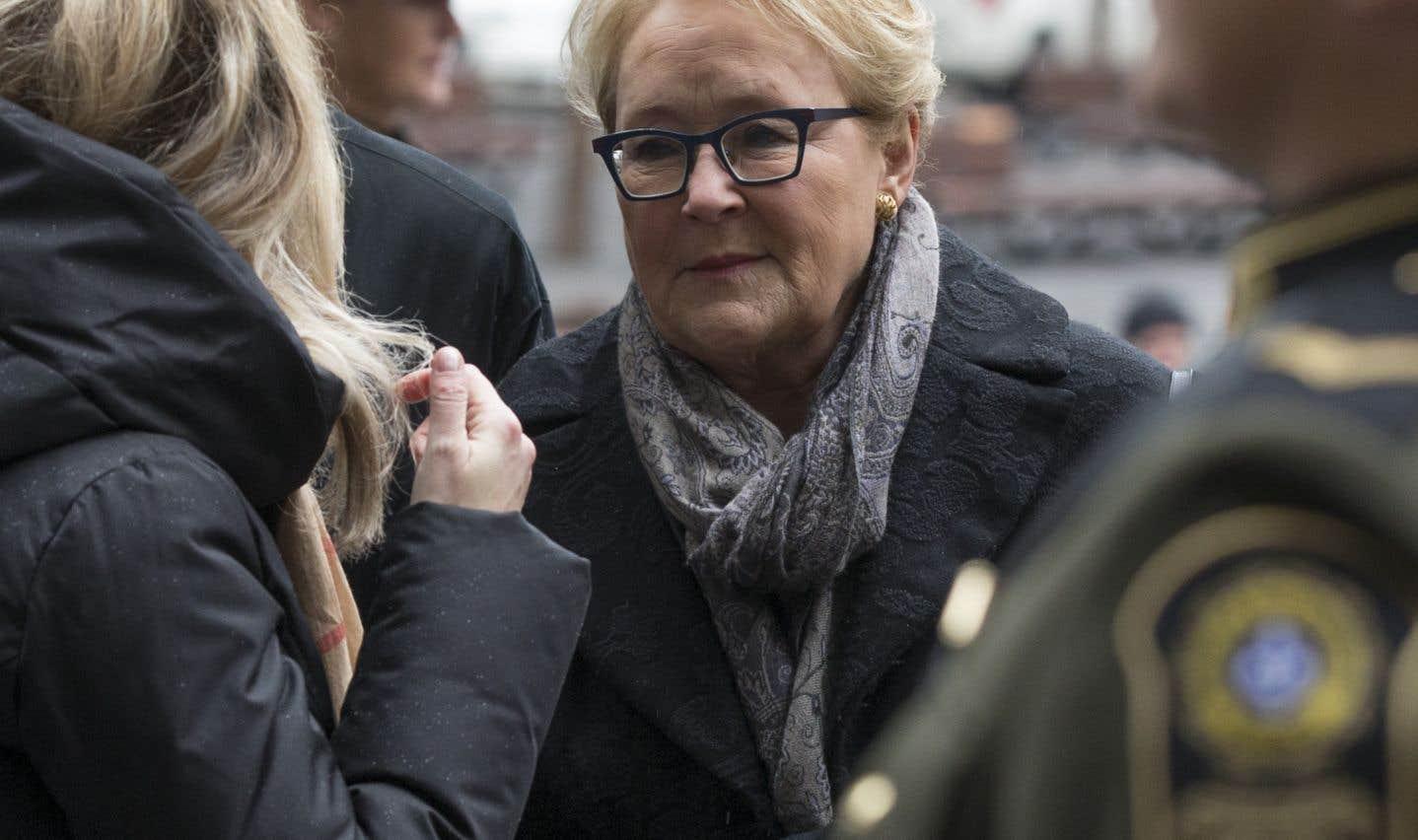 L'ancienne première ministre du Québec Pauline Marois