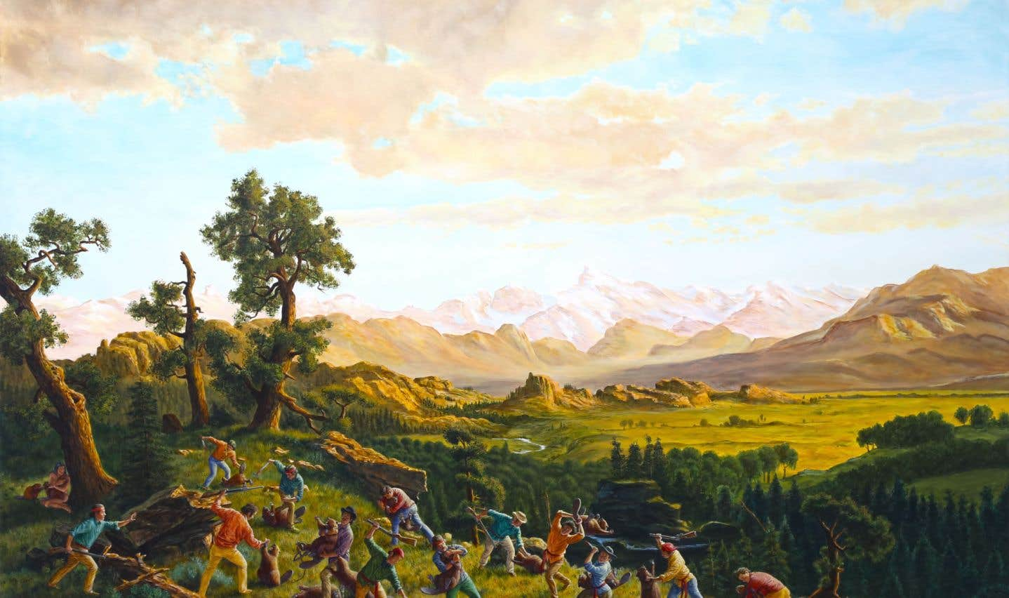 Kent Monkman, «Le massacre des innocents», 2015