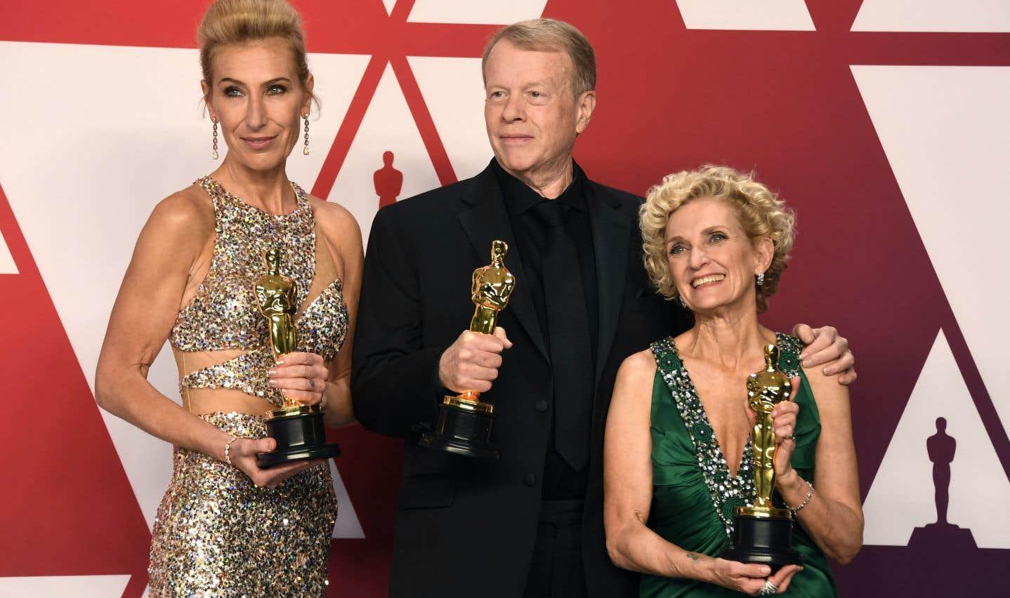 Kate Biscoe, Greg Cannom et Patricia Dehaney sont repartis avecl'Oscar pour les meilleurs coiffure et maquillage.