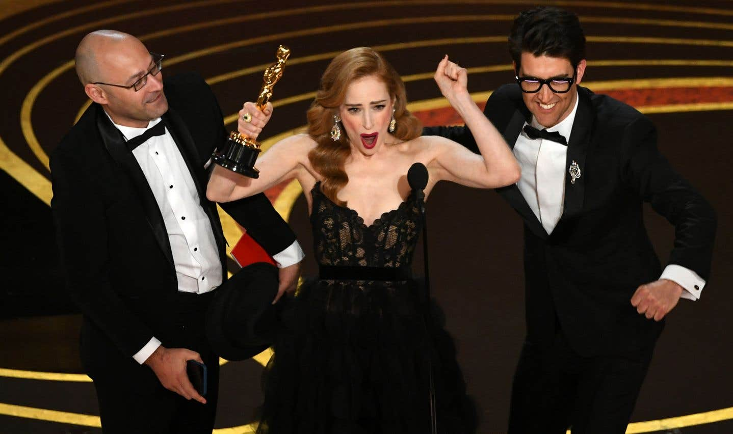 «Skin» a remportél'Oscar pour le meilleur court métrage de fiction.