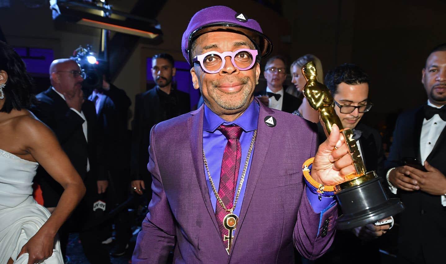 Spike Lee est reparti avec l'Oscar du meilleur scénario adapté pour le film «BlacKkKlansman».