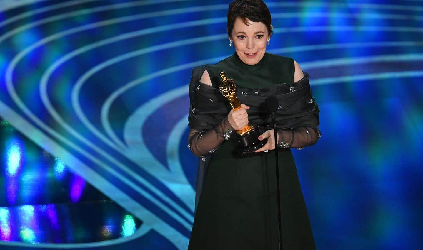 Olivia Colman a remportél'Oscar de la meilleure actrice pour son rôle dans«The Favourite».