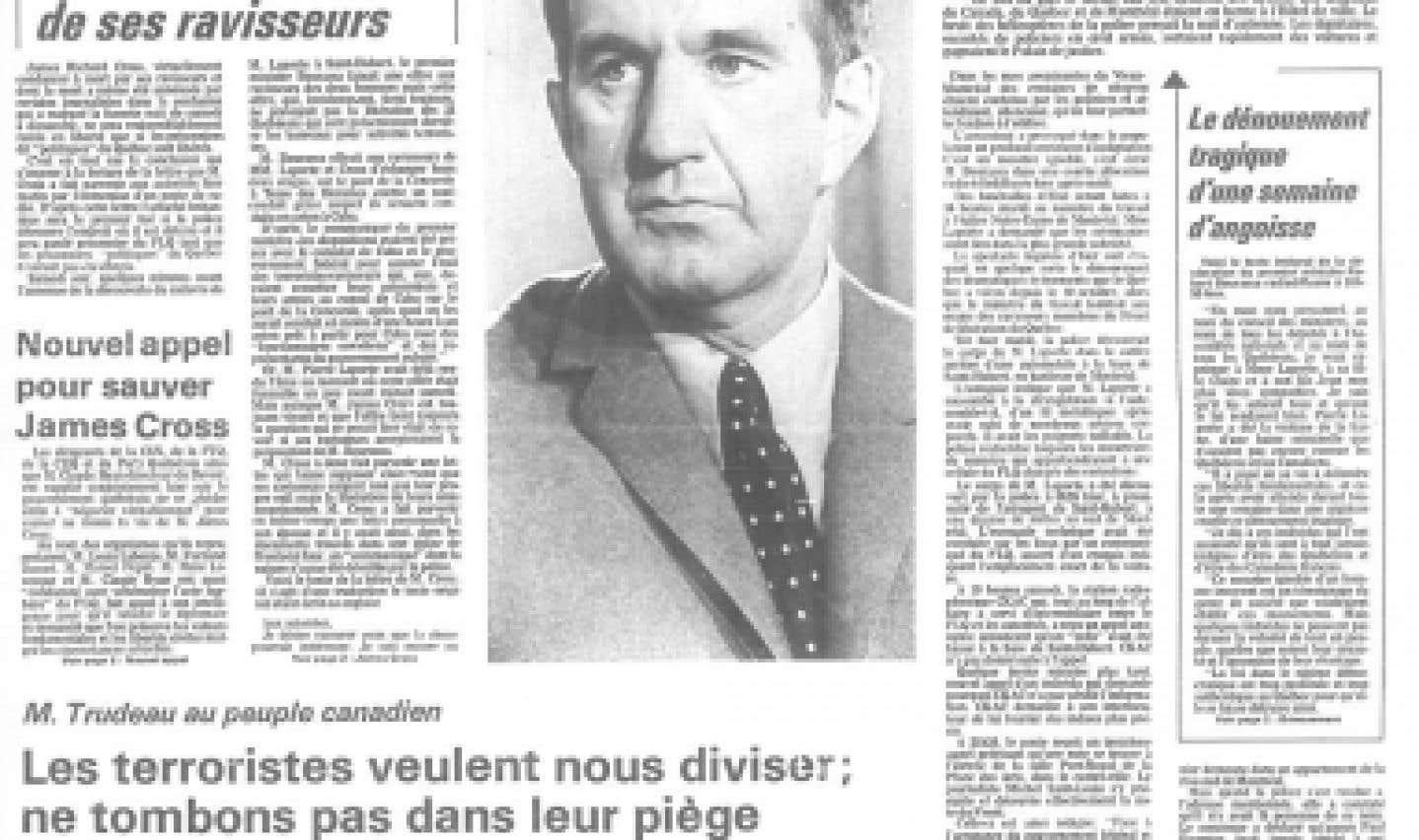 Souvenirs de la rédaction - Le Devoir dans la tempête d'Octobre 70