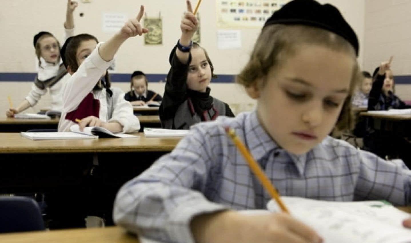Communauté juive orthodoxe - Virage à 180° à l'École Belz