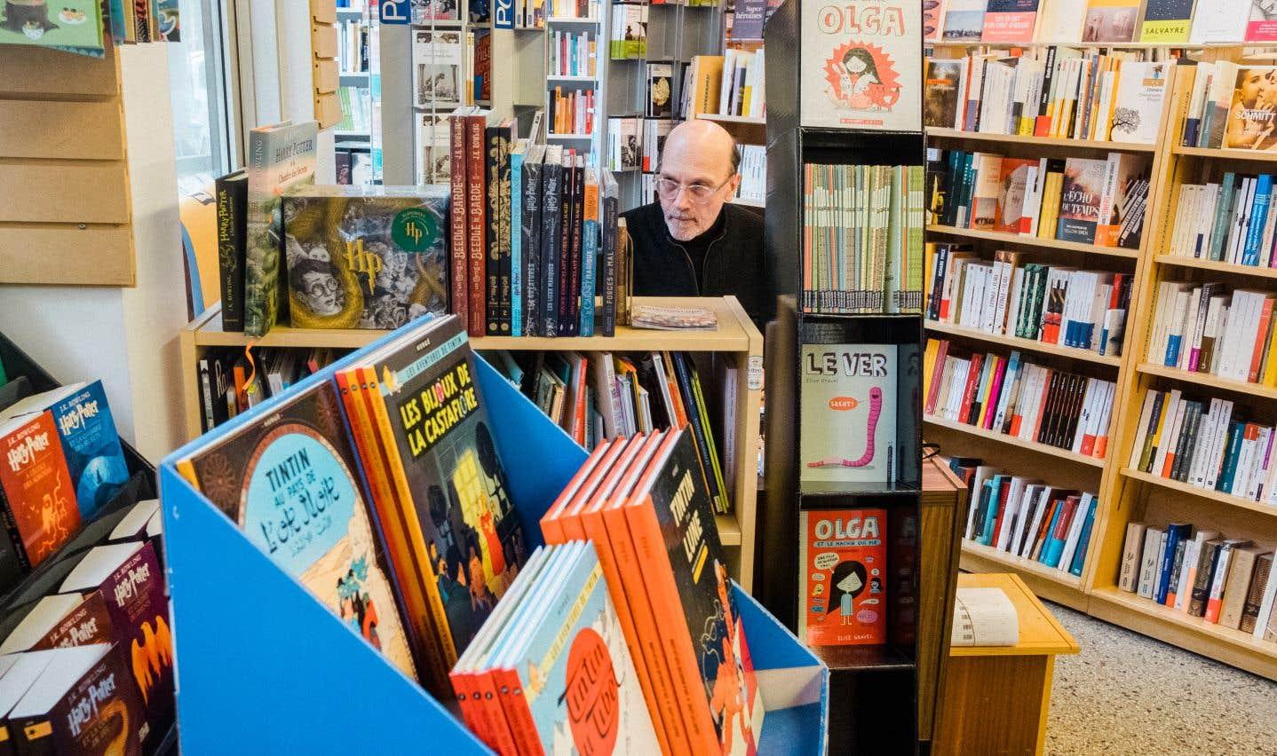 À la librairie Pantoute, les clients ne seront admis qu'à compter de mardi, et seulement pour venir chercher une commande achetée en ligne.