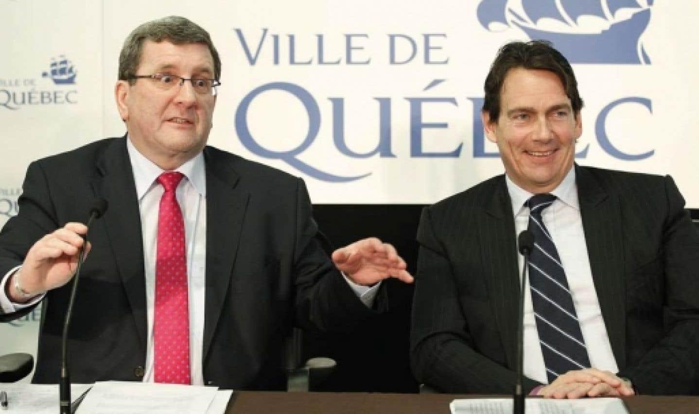 Québec: Labeaume croit que les conservateurs sont suicidaires en refusant d'investir