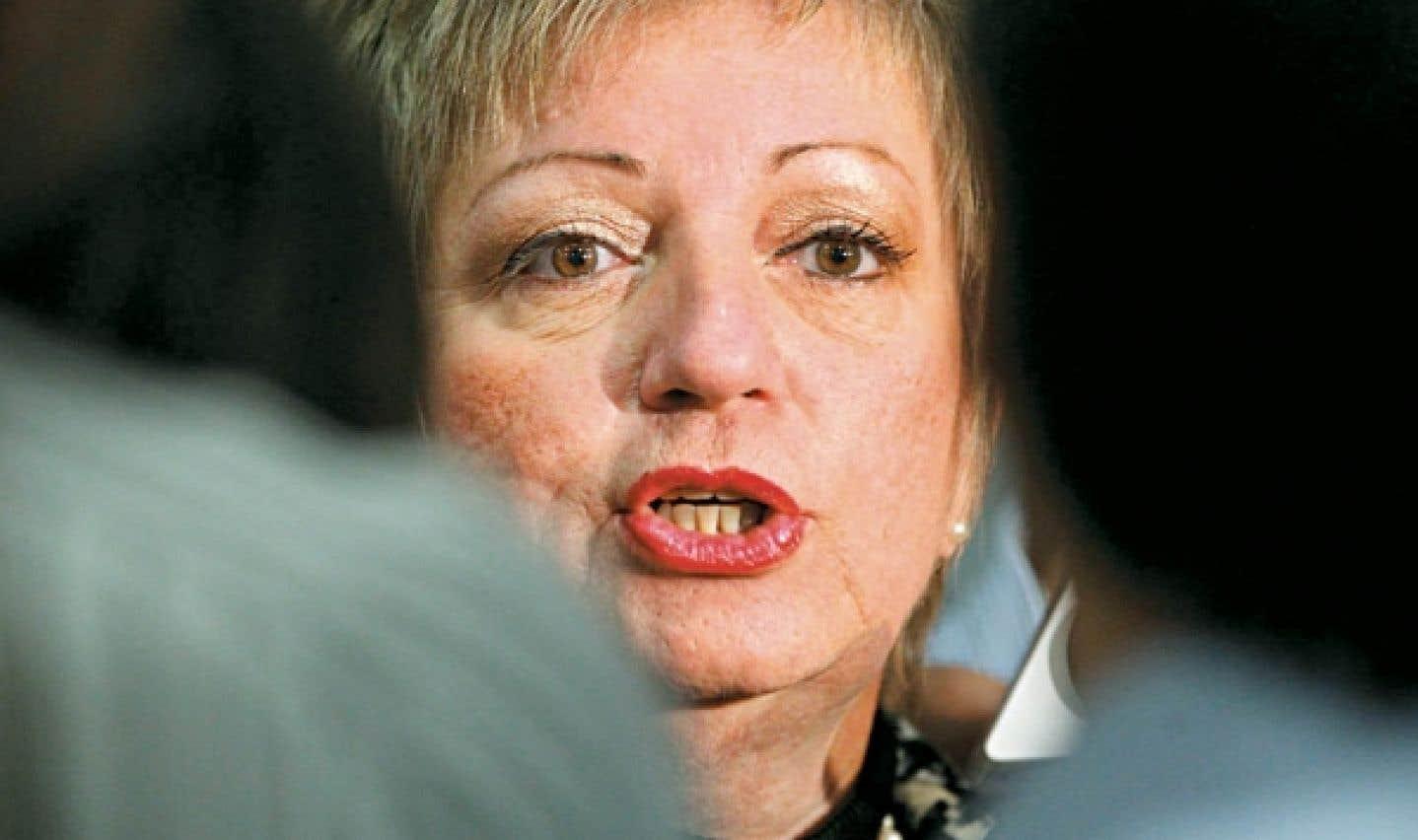 La présidente de la CSDM, Diane de Courcy