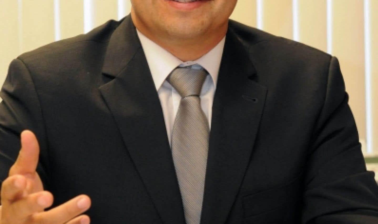 Sylvain Benoît, directeur du Bureau des relations internationales de l'UQTR
