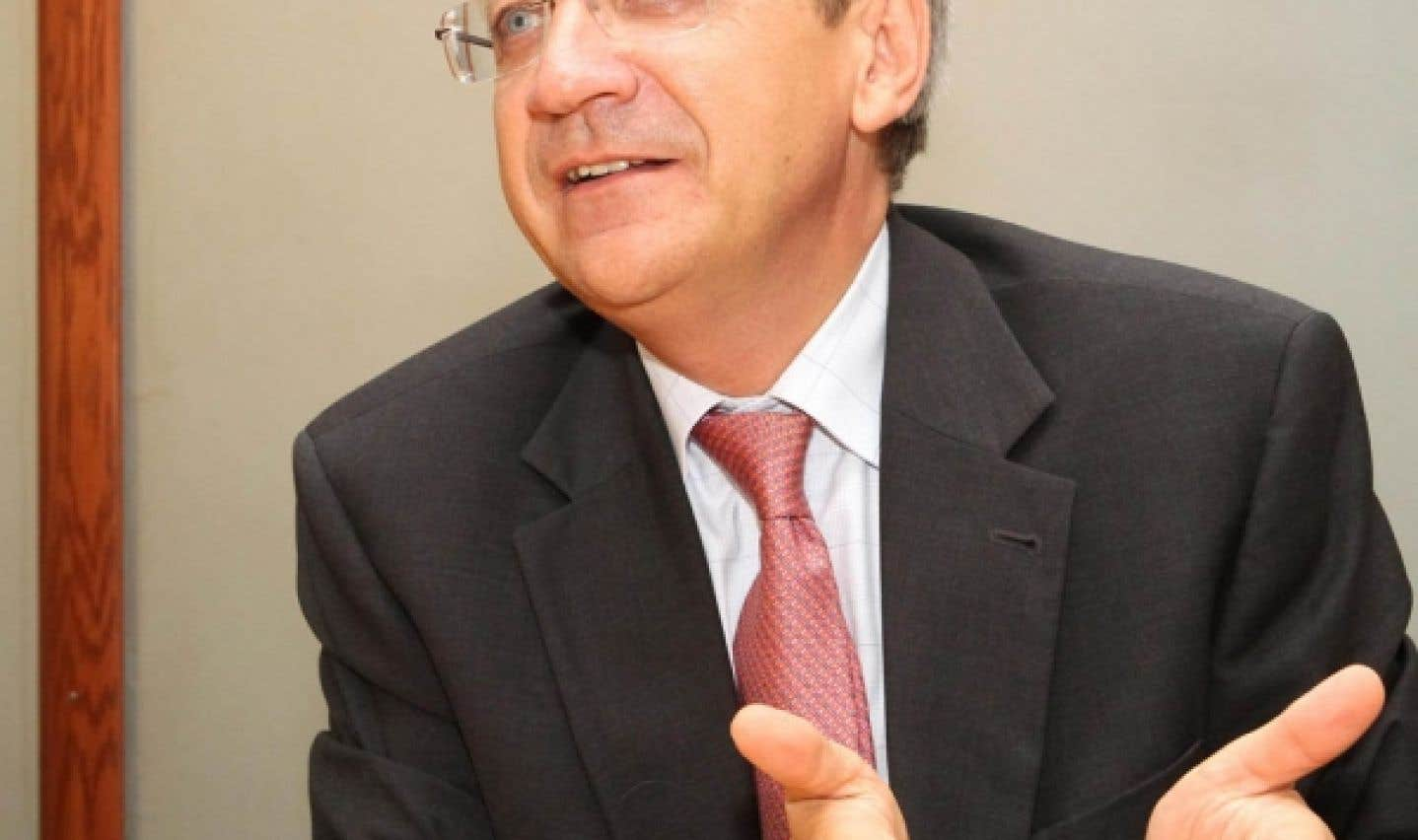Clément Duhaime, administrateur de l'Organisation internationale de la Francophonie