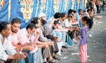 Les Frères musulmans (et leurs enfants) à la place Tahrir
