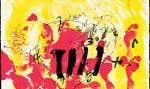 Antoni Tàpies, Sans titre (1972). De la série «Suite Catalana», aquatinte, 76,1 x 101,5 cm MBAM, don de Yvon Tardif, m.d.