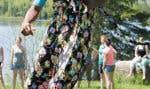 Ce week-end du campeur dans la région de Sainte-Agathe-des-Monts visait dans le mille: le seul symptôme du FOMO (pour Fear of Missing Out, ou la crainte de rater quelque chose) ressenti avait lieu sur le terrain, et si le tir à l'arc-horoscope était plus amusant que le cardio-carabine ou que l'empilage sportif?