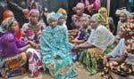 Une photo du 5 mai 2014 montrant les jeunes filles rescapées