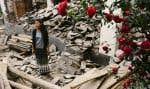 Rien n'aurait pu empêcher Sunita Ghale de rejoindre son village natal, Barpak, réduit en ruines par le séisme du 25 avril dernier.