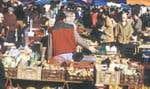 Au marché de Périgueux. — Photo: Maison de la France