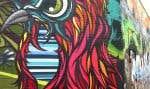 Art urbain au détour d'une rue de Detroit
