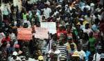 L'incertitude est grande en Haïti. Le mécontentement aussi. Dimanche, des manifestants réclamaient la démission du président Michel Martelly.
