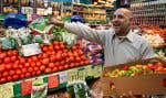 Le prix des aliments était en hausse de 4 % le mois dernier.