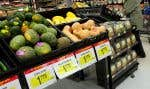 La hausse de la valeur du panier d'épicerie a été de 3 % au cours du trimestre terminé le 12 mars.
