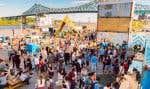 Les représentants d'environ 325 municipalités sont attendus à Montréal cette semaine sur le thème de la «Collaboration entre les gouvernements locaux et les acteurs de l'économie sociale et solidaire pour le développement des villes». En vignette, le Village au Pied-du-Courant, aménagé par l'OBNL la Pépinière.