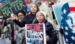Des centaines de milliers de femmes ont marché dans les rues de Washington samedi.