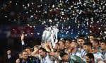 Le Real Madrid de Zinédine Zidane a remporté samedi sa troisième Ligue des champions d'affilée.