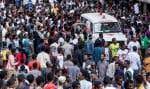 Une foule immense était venue écouter le premier ministre éthiopien Abiy Ahmed samedi dans le centre d'Addis Abeba.