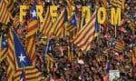 Un an après l'échec de leur tentative de sécession de l'Espagne, les séparatistes démontrent une capacité de mobilisation intacte.