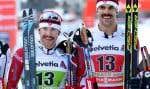 Ski de fond Canada espère une relance, à la suite de l'annonce de la retraite des fondeurs Alex Harvey (gauche) et Len Valjas.