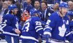 «Il faut qu'on progresse, en tant qu'équipe, et qu'on bâtisse une culture qui nous permettra d'aspirer aux grands honneurs chaque saison»,a mentionné l'entraîneur-chef des Leafs, Mike Babcock.