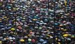 Au-delà de la loi d'extradition, le mouvement exprime un ressentiment contre les autorités qui enfle depuis l'échec de la «révolte des parapluies» de l'automne 2014.