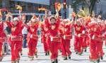 Comme de coutume, la fête la plus grandiose avait lieu à Ottawa, où les avions Snowbirds ont effectué leur survol traditionnel alors que le premier ministre Justin Trudeau s'accordait un bain de foule. À Montréal, le défilé au Vieux-Port mettait en avant la diversité culturelle des Canadiens.