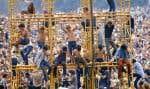 Des images d'archives du festival Woodstock