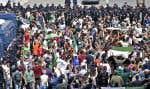 La mobilisation était au rendez-vous, et ce, en dépit d'un déploiement des forces de sécurité encore plus important que lors des vendredis précédents.