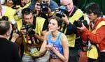 Double championne du monde en 2015 et 2017, Maria Lasitskene, 26ans, est l'une des quelques athlètes russes actuellement autorisés à concourir sous bannière neutre.