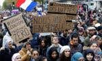 Quelque 13000 personnes ont répondu à l'appel à manifester lancé après l'attaque d'une mosquée à Bayonne.