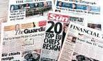 En Grande-Bretagne comme ailleurs, tous les signes vitaux de la couverture internationale chutent inexorablement.