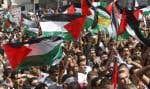 Les Palestiniens ont manifesté hier dans plusieurs villes Cisjordanie.