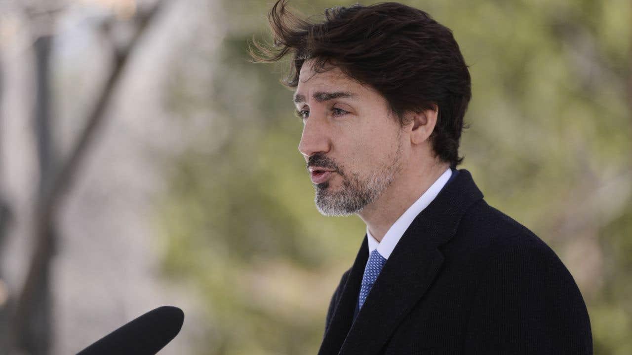 Le premier ministre Justin Trudeau