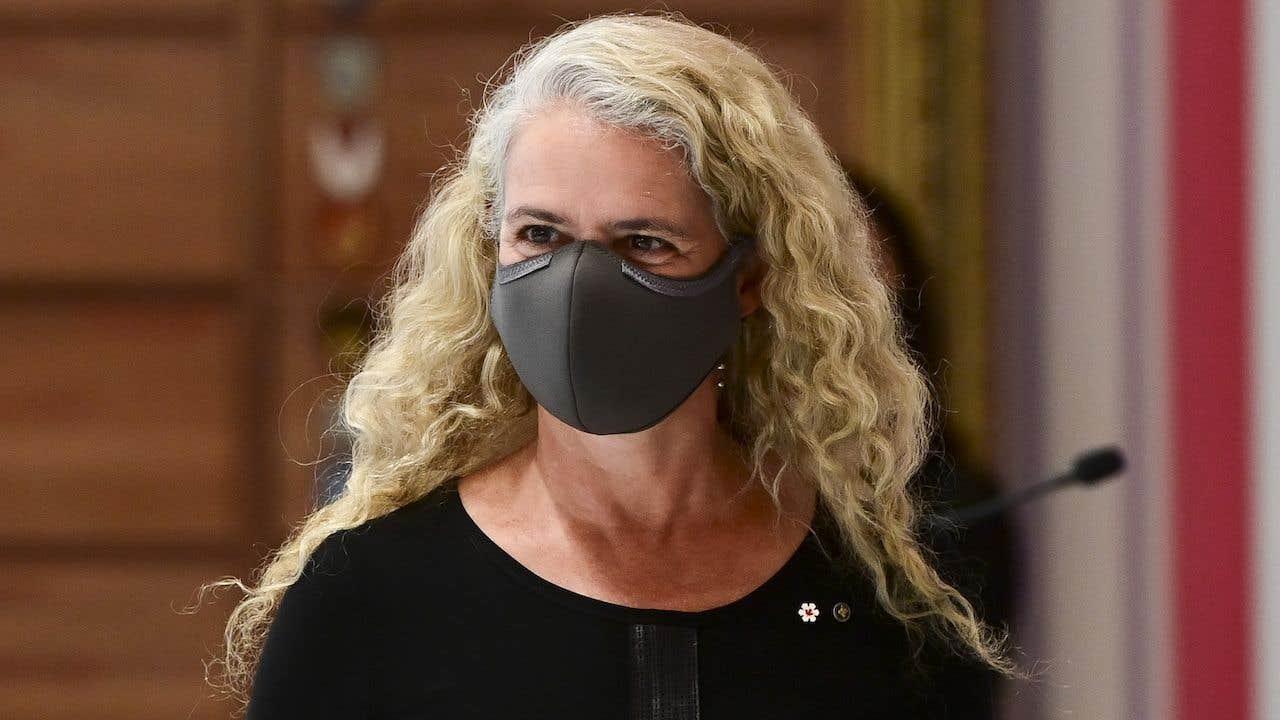 La gouverneure générale, Julie Payette.