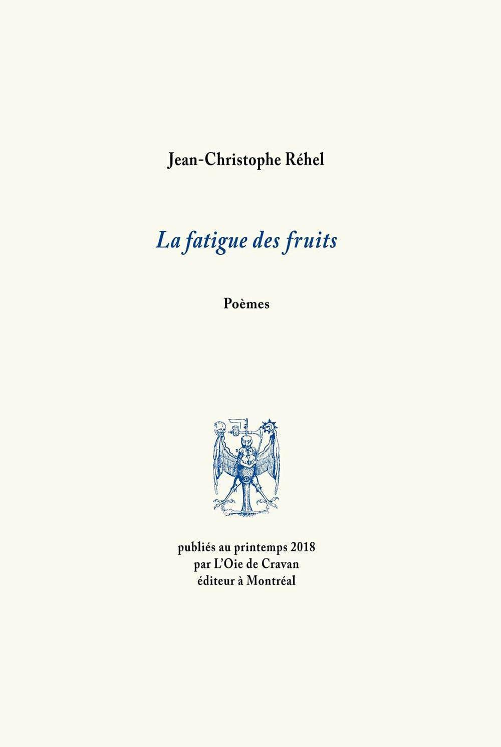 La Fatigue Des Fruits Jean Christophe Réhel à La Défense
