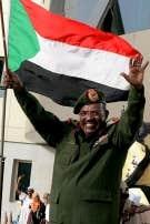 Omar el-B&eacute;chir, pr&eacute;sident du Soudan depuis 1993.<br />