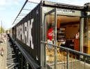 Boxpark, le « pop-up mall » du quartier.
