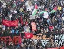 La manifestation a démarré à la place Émilie-Gamelin, dimanche, pour ensuite se déplacer vers la place du Canada.
